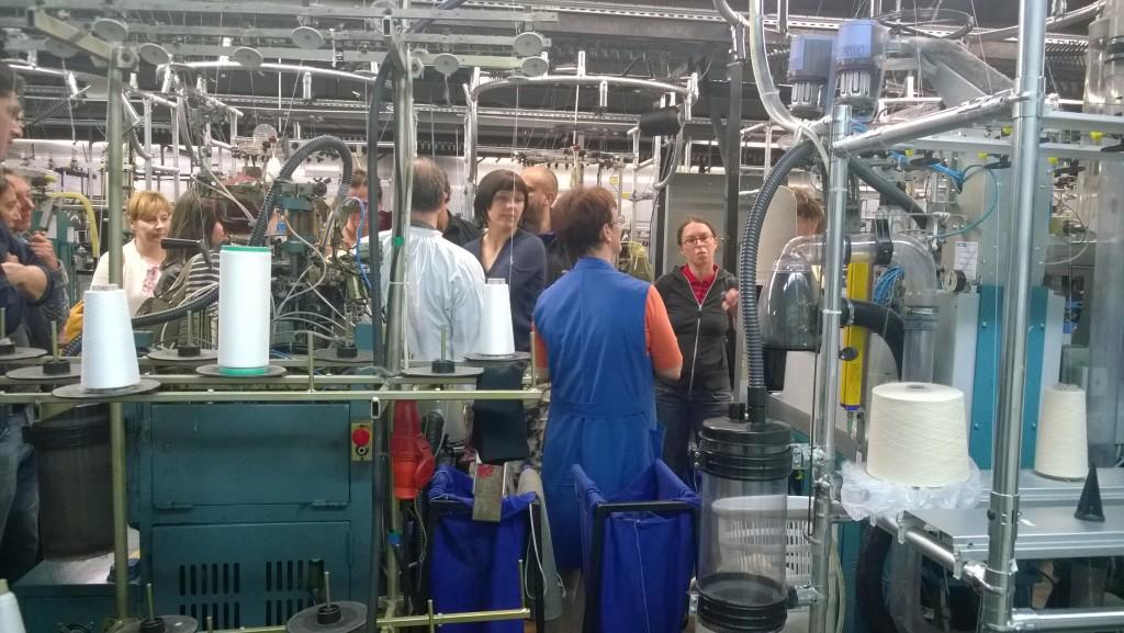 ogled proizvodnje konopljinih nogavic