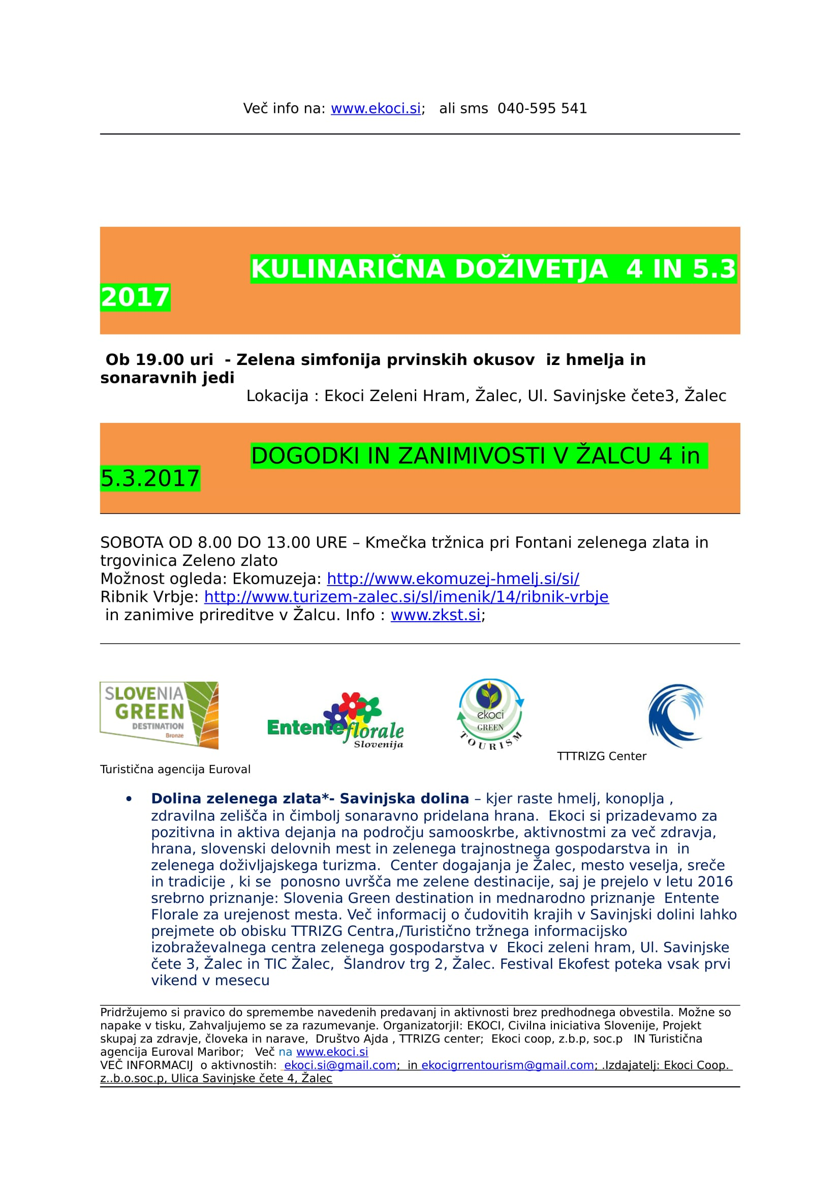 VABILO EKOFEST MAREC - festival v Savinjski dolini - dolini zelenega zlata-2