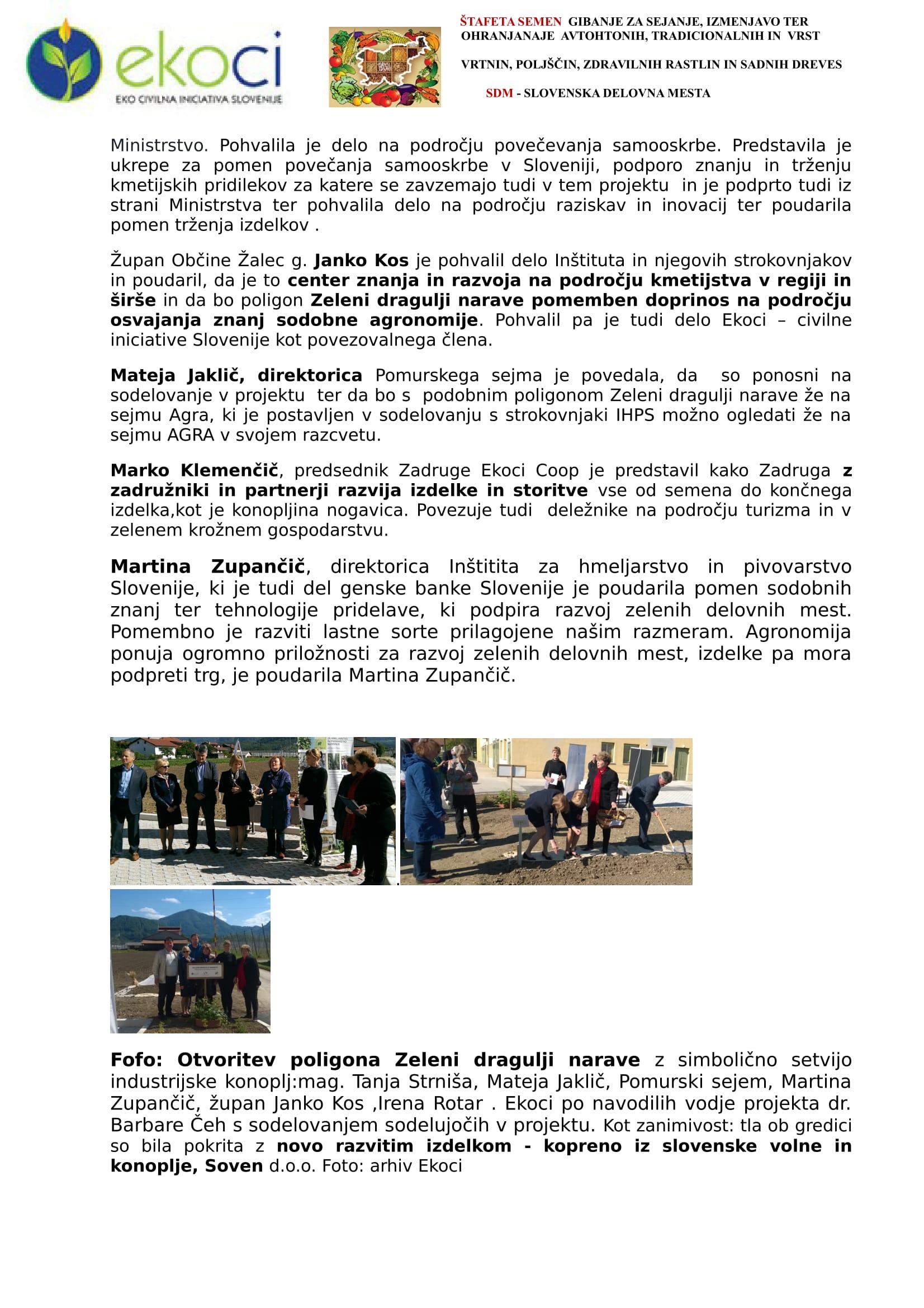 SZJ - OTVORITEV POLIGON ZELENI DRAGULJI NARAVE - V DOLINI ZELENEGA ZLATA-2