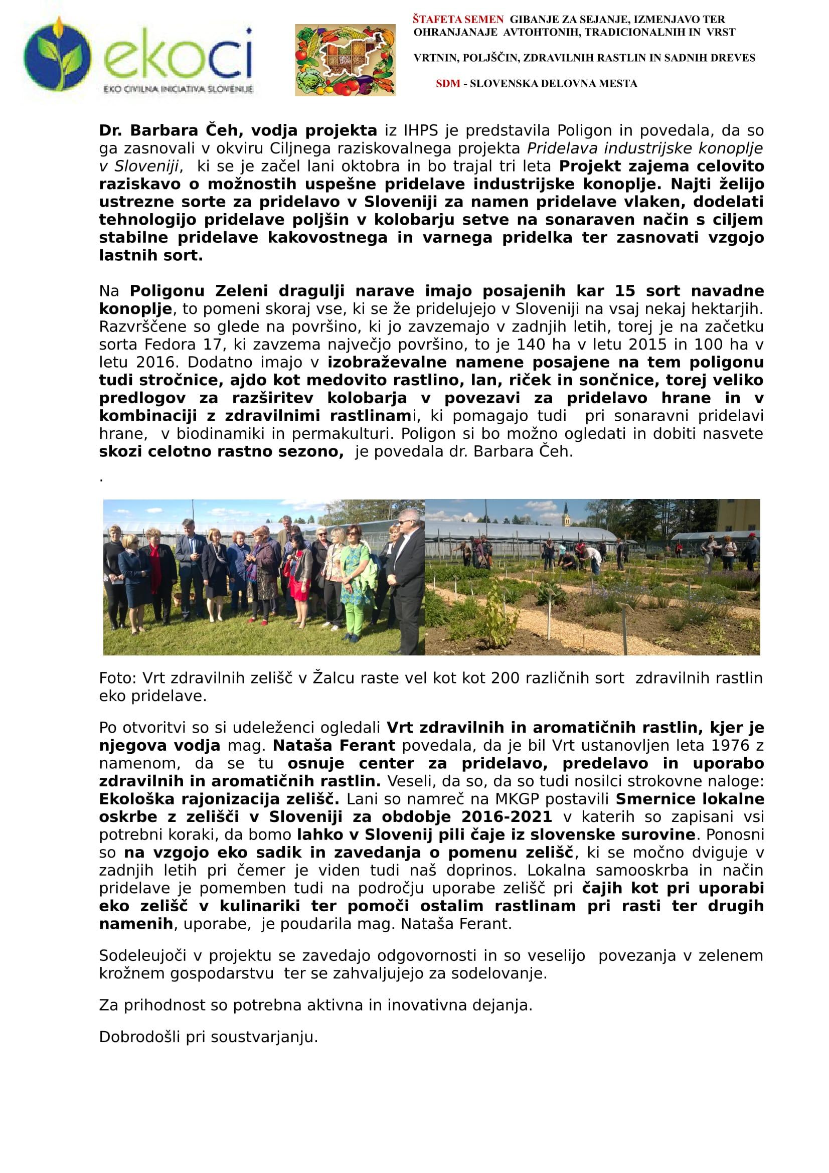 SZJ - OTVORITEV POLIGON ZELENI DRAGULJI NARAVE - V DOLINI ZELENEGA ZLATA-3