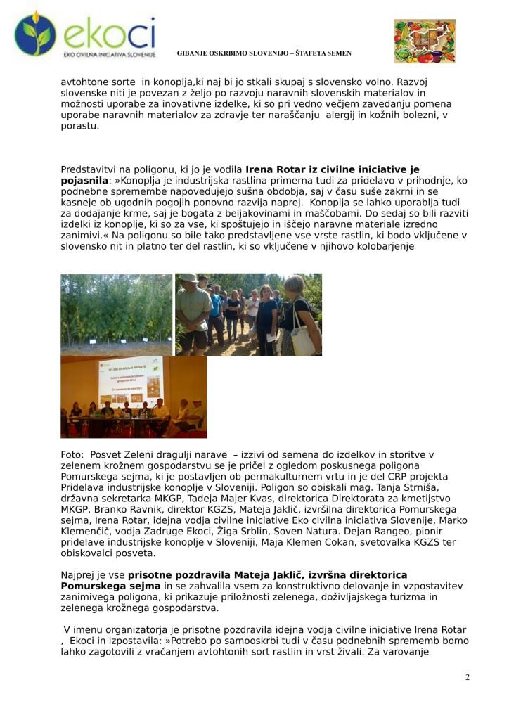 IZ POSVETA Zeleni dragulji narave - na Agri 2017-2