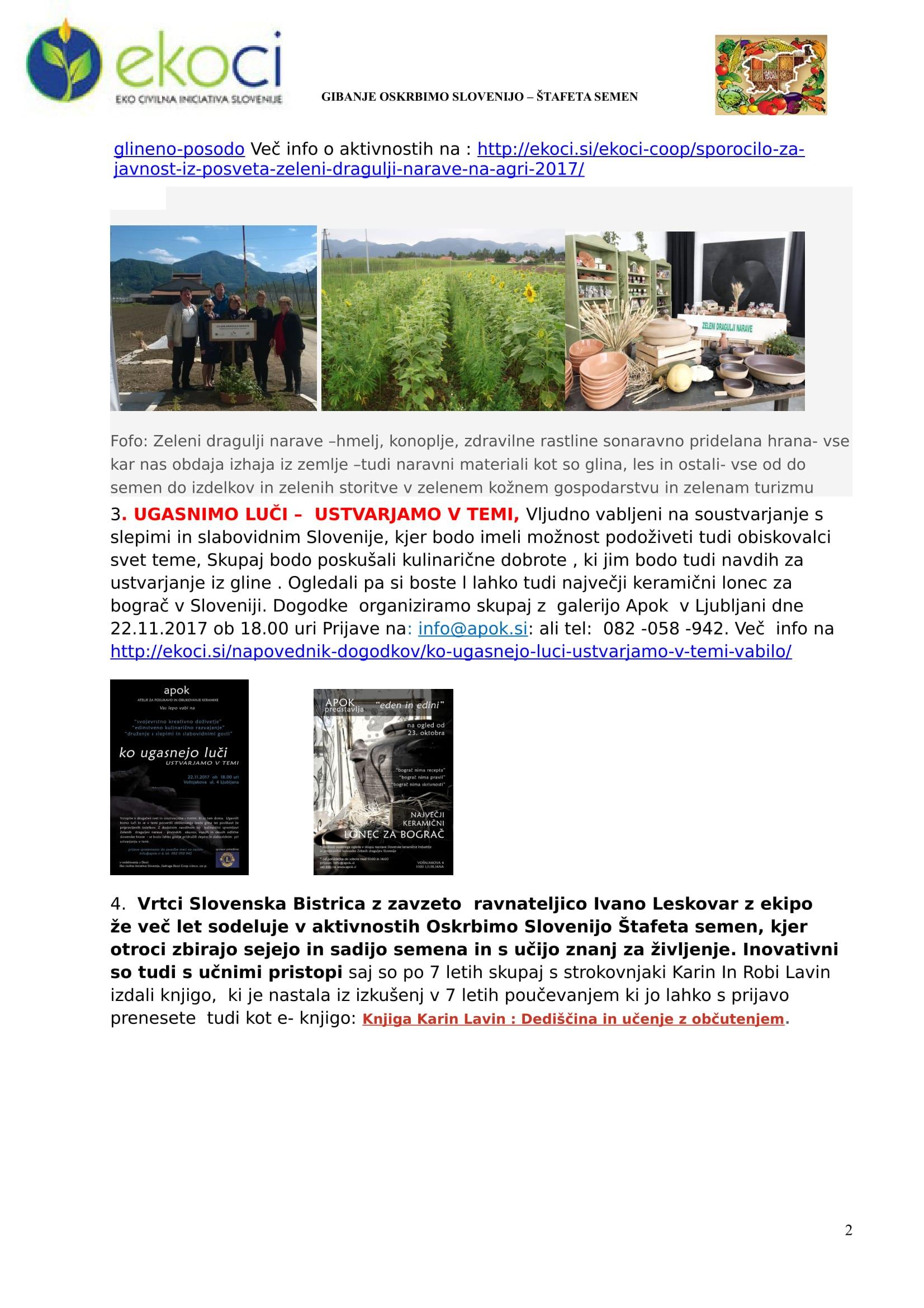 SZJ-STATI INU OBTSTATI- ČESTITKE- VABILA-EKOFEST -OKOLJSKO SREČANJE-2