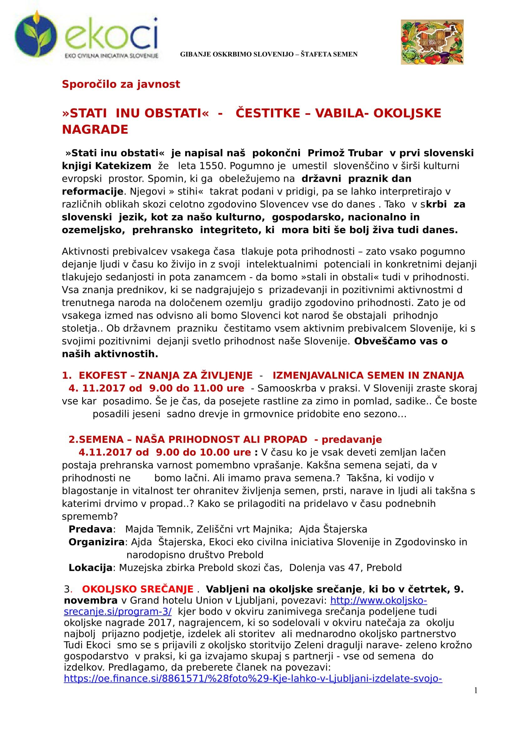 SZJ-STATI INU OBTSTATI- ČESTITKE- VABILA-EKOFEST -OKOLJSKO SREČANJE-1