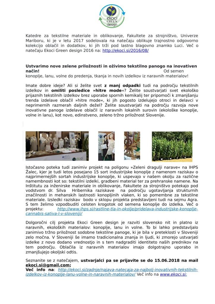 Ekoci Green design - VABILO k sodelovanju v natečaju or 1-2