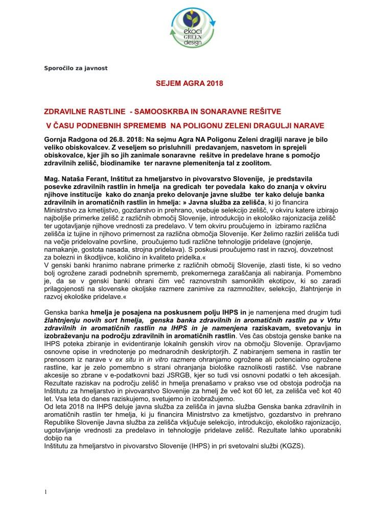 SZJ - ZDRAVILNE RASTLINE - SAMOOSKRBA IN PODNEBNE SPREMEMBE NA POLIGONU ZELENI DRAGULJI NARAVE-1