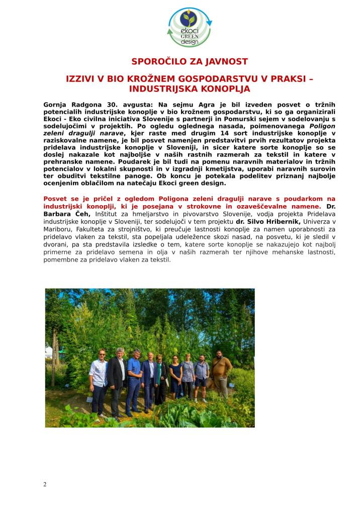 SZJ - posvet Bio krožno gospodarstvo v praksi - industrijska konoplja in podelitev nagrad Ekoci green design-1