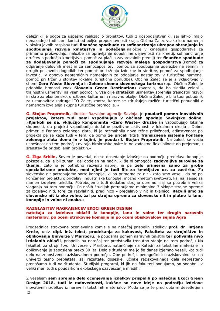SZJ - posvet Bio krožno gospodarstvo v praksi - industrijska konoplja in podelitev nagrad Ekoci green design-6