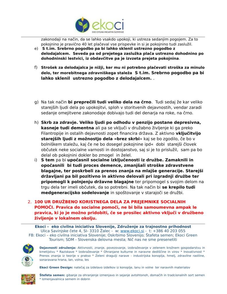 Ekoci - Pobude v preučitev - Srebrni trg dela - aktivno državljanstvo - loklano okolje - podnebne spremembe-3