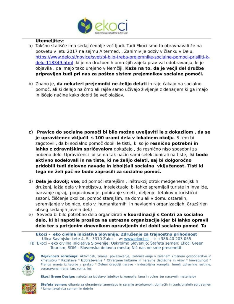 Ekoci - Pobude v preučitev - Srebrni trg dela - aktivno državljanstvo - loklano okolje - podnebne spremembe-4