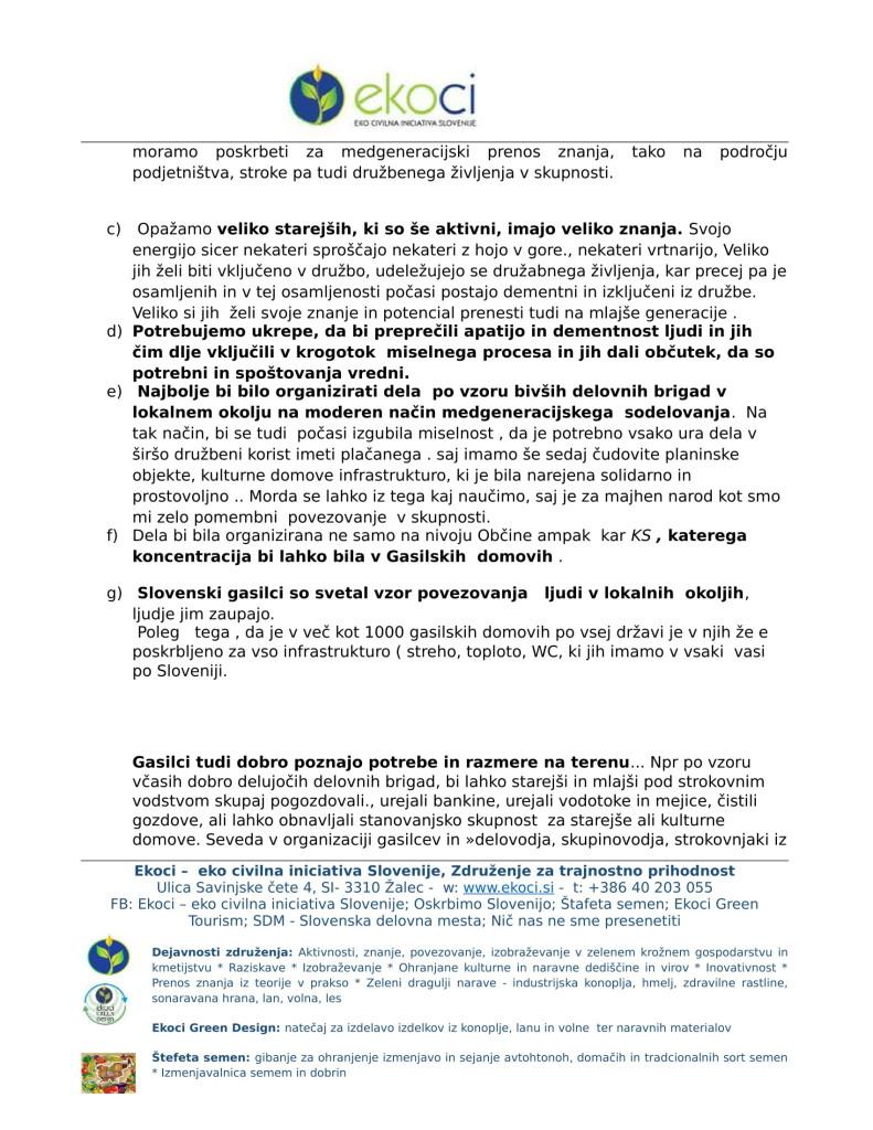 Ekoci - Pobude v preučitev - Srebrni trg dela - aktivno državljanstvo - loklano okolje - podnebne spremembe-6