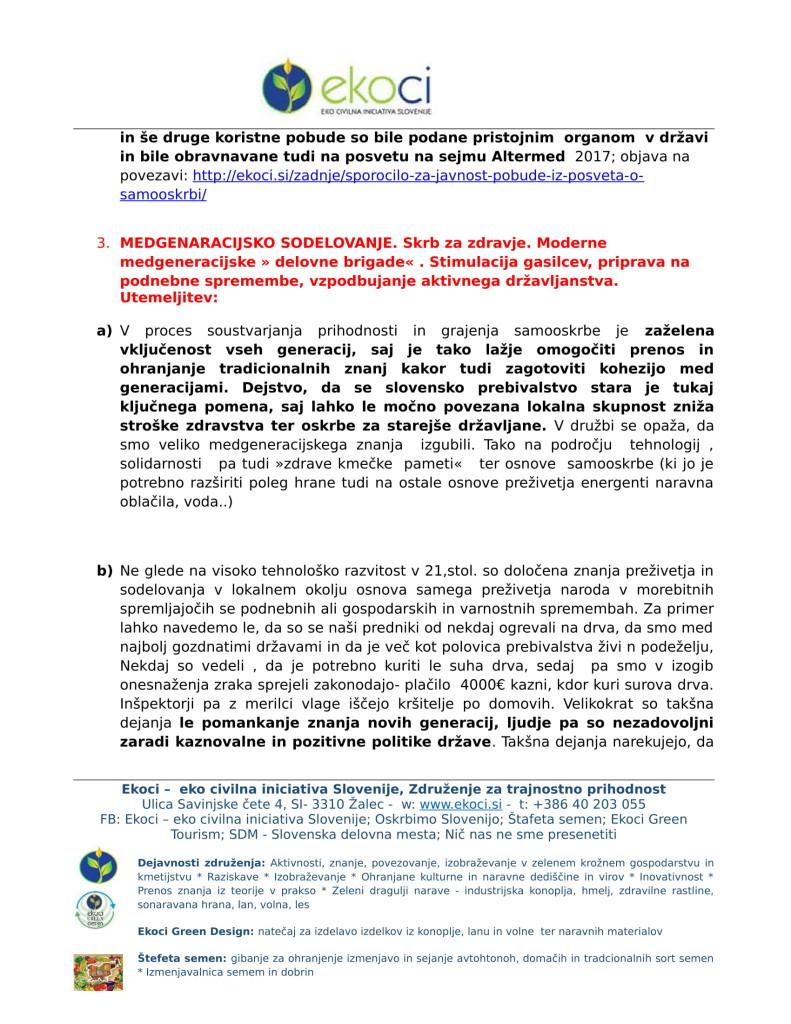 Ekoci - Pobude v preučitev - Srebrni trg dela - aktivno državljanstvo - loklano okolje - podnebne spremembe-5