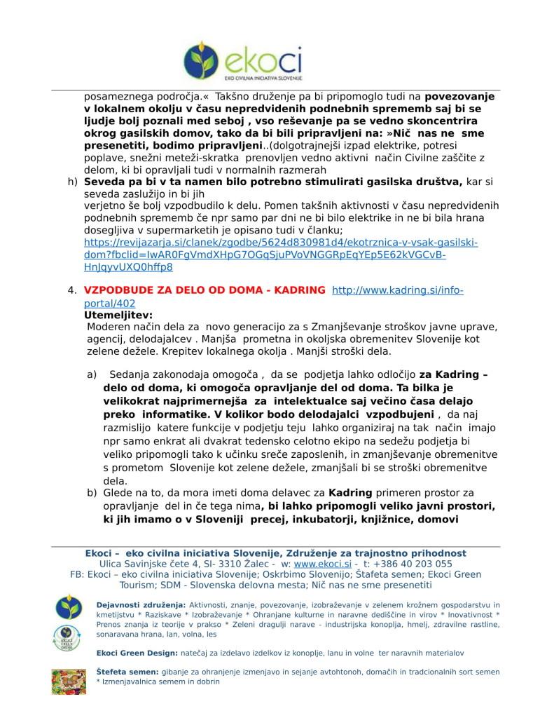 Ekoci - Pobude v preučitev - Srebrni trg dela - aktivno državljanstvo - loklano okolje - podnebne spremembe-7