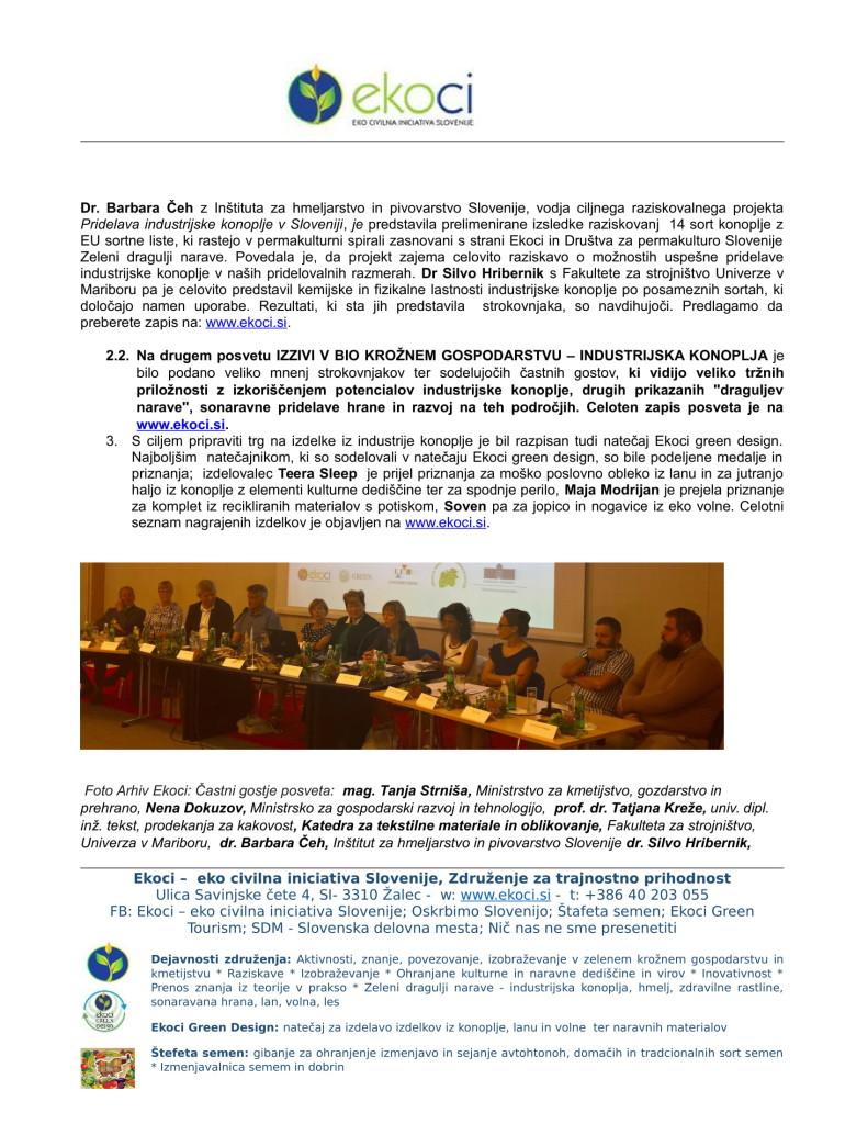 POROČILO O SODELOVANJU V PROJEKTU IINDUSTRIJSKA KONOPLJA V SLOVENIJI E... (1)-04