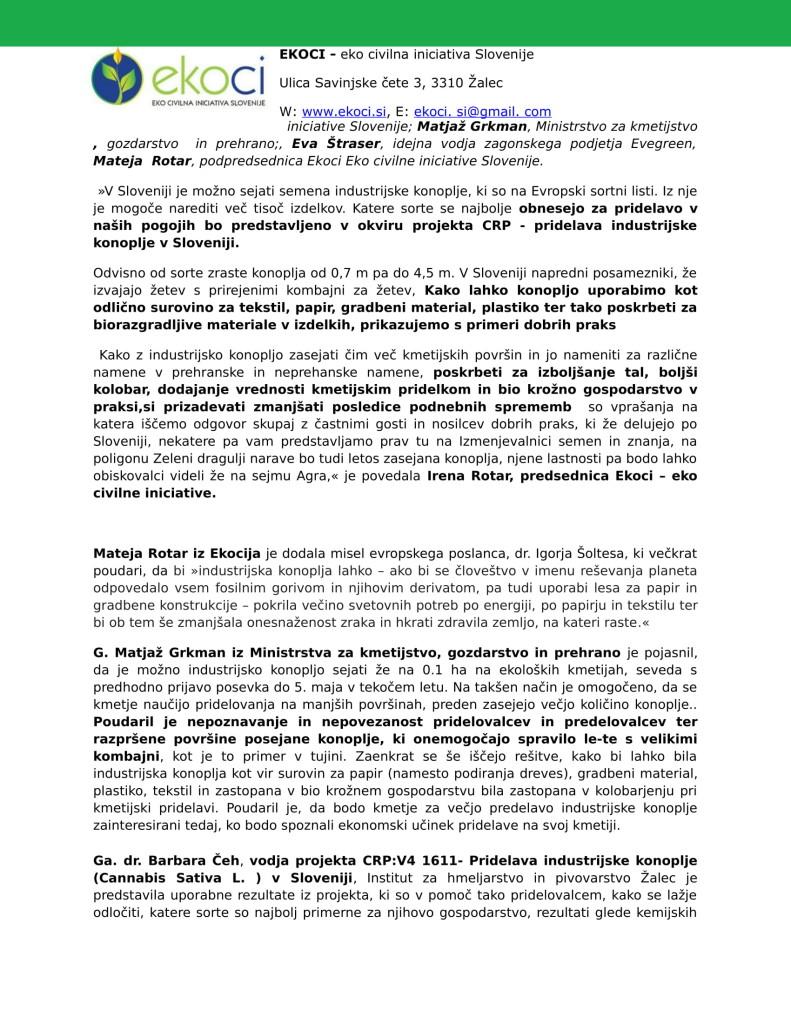 SZJ - Posvet o industrijski konoplji sejem Naturo 2019 in prikazi dobr...-2
