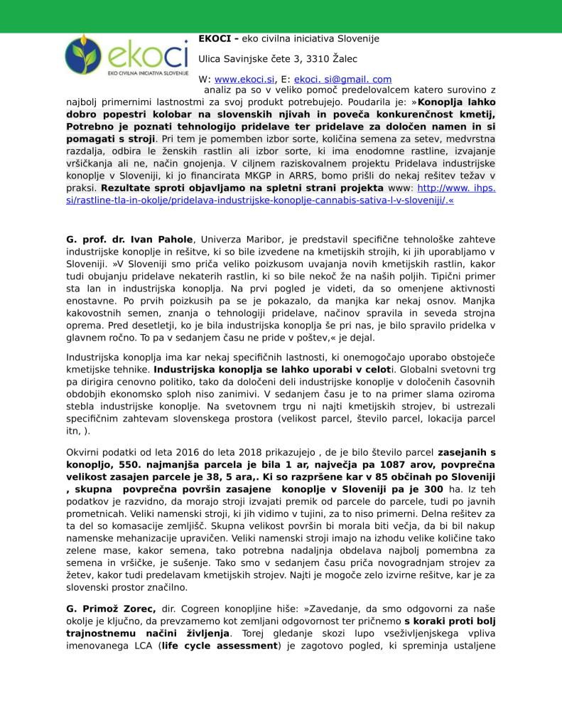 SZJ - Posvet o industrijski konoplji sejem Naturo 2019 in prikazi dobr...-3