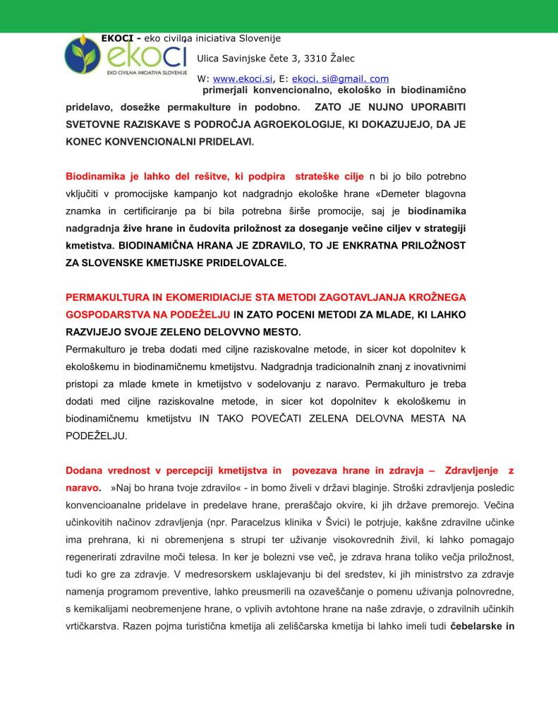 POBUDE IN PREDLOGI K STRATEGIJI ZA NOVO KMETIJSTVO V SLOVENIJI (1)-07