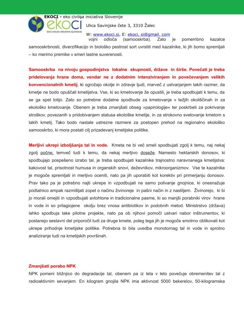 POBUDE IN PREDLOGI K STRATEGIJI ZA NOVO KMETIJSTVO V SLOVENIJI (1)-09