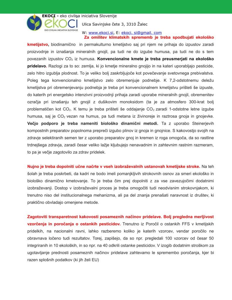 POBUDE IN PREDLOGI K STRATEGIJI ZA NOVO KMETIJSTVO V SLOVENIJI (1)-11